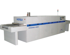 solar cell processing conveyor belt furnace